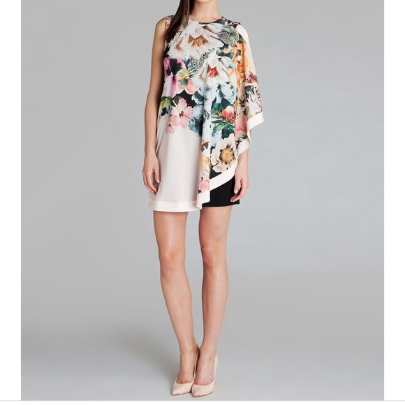 b01ed3db5cd45d Ted Baker Tangled Floral Tunic Dress - Size 0